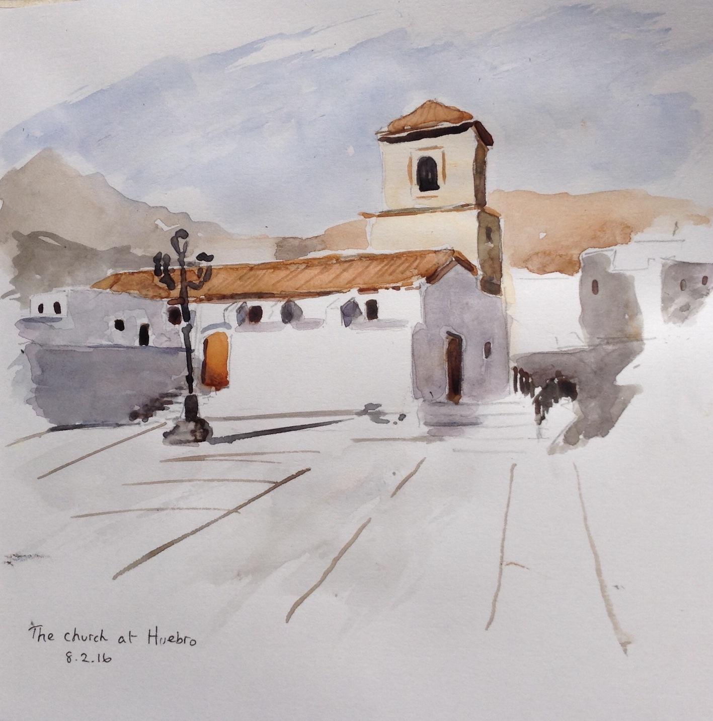Church at Huebro